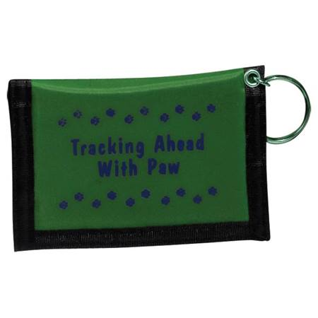 Paw Power Wallet - Green