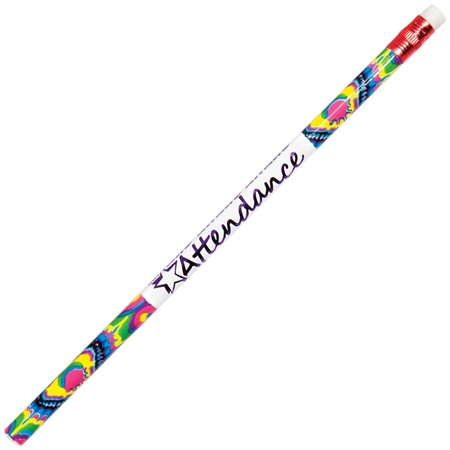 Attendance Pencil - Paint Splatter