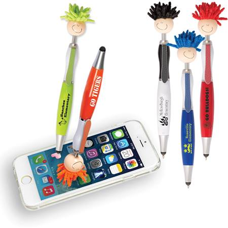 Mop Topper™ Stylus Pen with Screen Cleaner