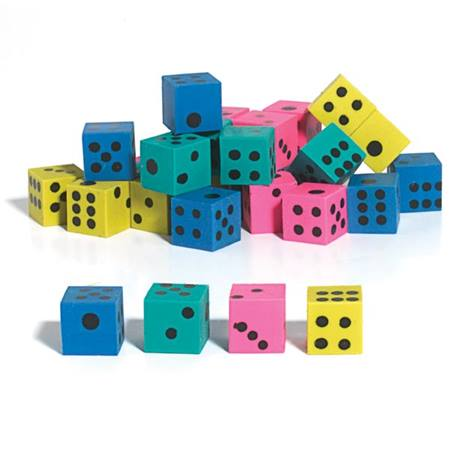 Dice Erasers 48 Pack