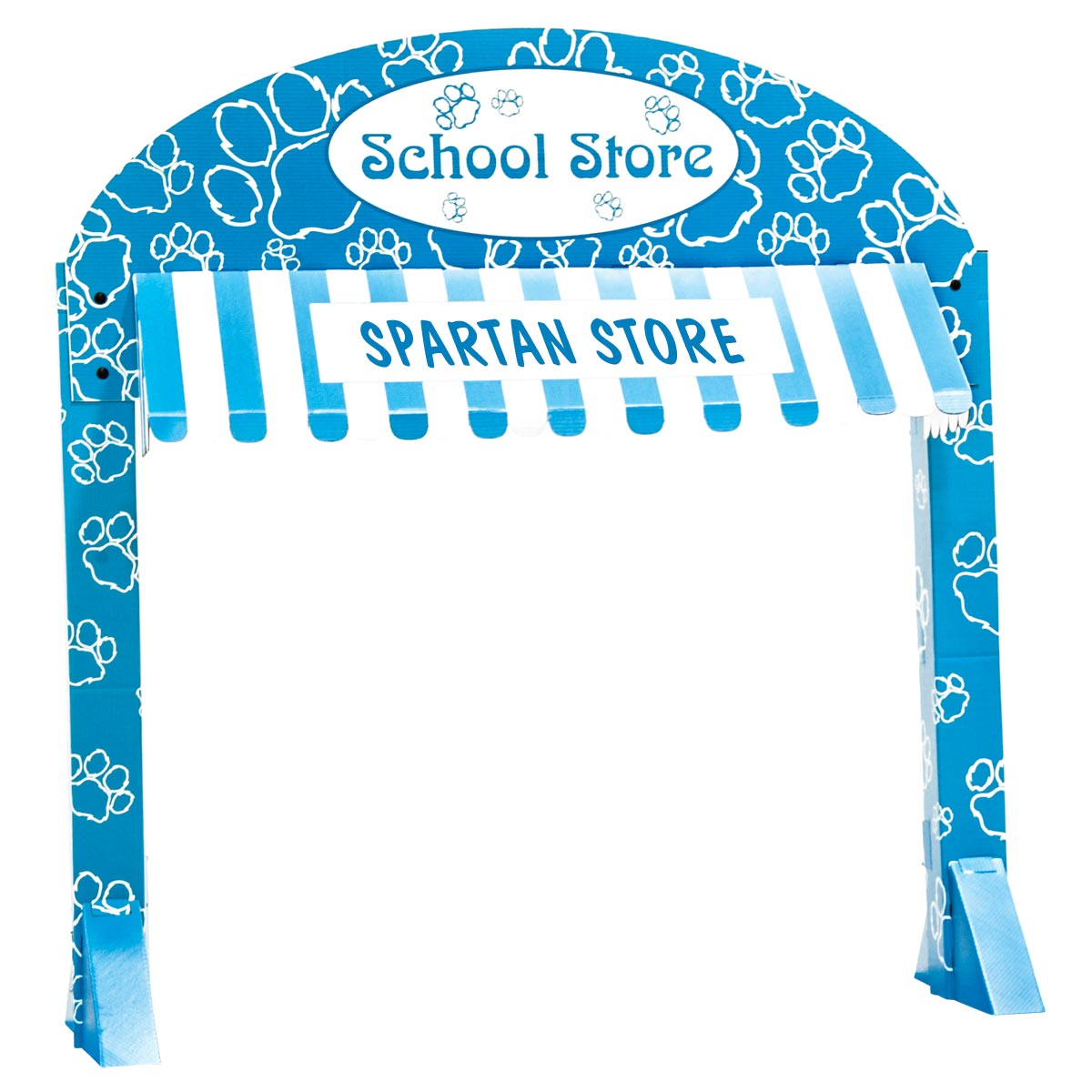 Paw School Store Table Awning Kit - Personalized