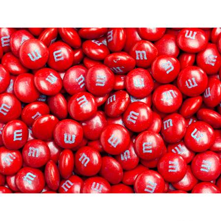 Red M&M's® Milk Chocolate Candy - 5 lbs.