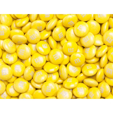 Yellow M&M's® Milk Chocolate Candy - 5 lbs.