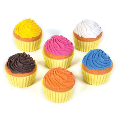 Scented Cupcake Erasers