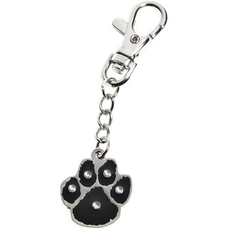 Bling Backpack Charm - Paw