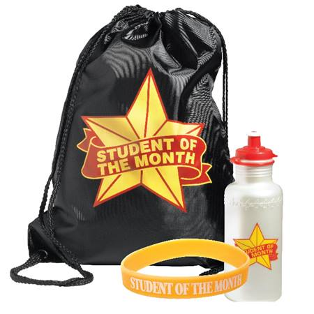 Backpack Award Set - Gold Star Student of the Month