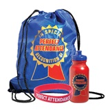 Backpack Award Set - Perfect Attendance