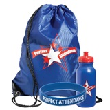 Backpack Award Set - Perfect Attendance Stars