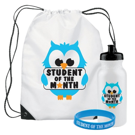 Backpack Award Set - Student of the Month Owl