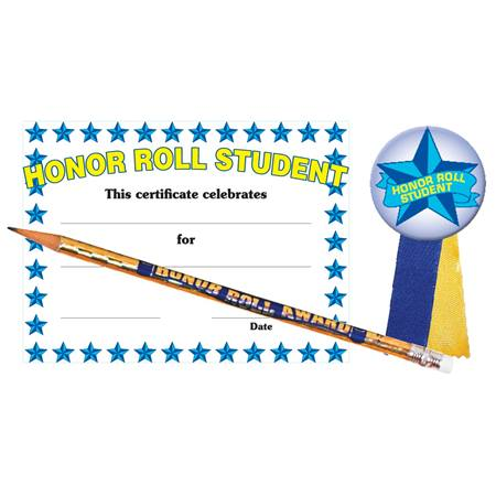 Certificate Award Set - Honor Roll Student