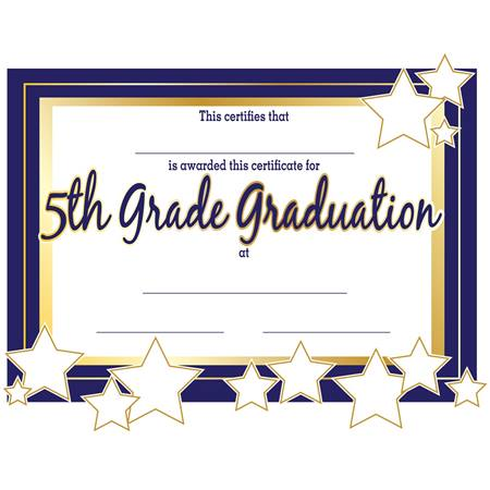 6th grade graduation certificate template - 5th grade graduation certificates anderson 39 s