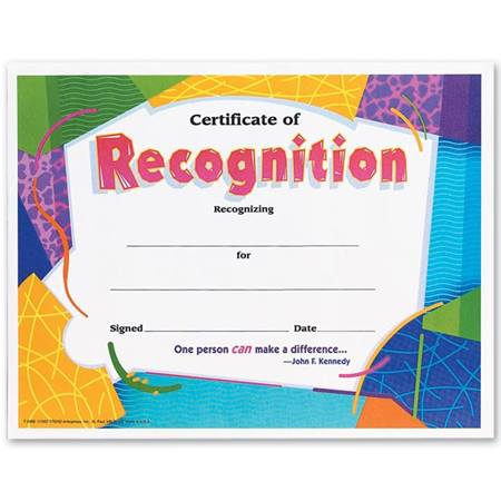 teacher appreciation certificates