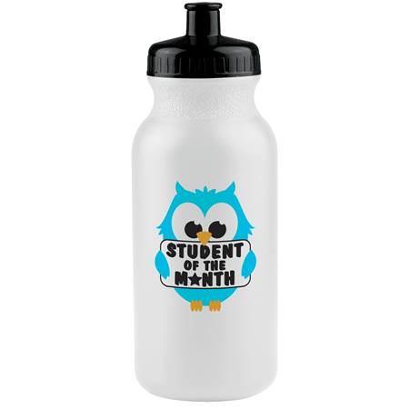 Student of the Month Owl Water Bottle