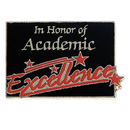 Academic Excellence Award Pin - In Honor