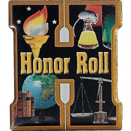 Honor Roll Photo Award Pin - H