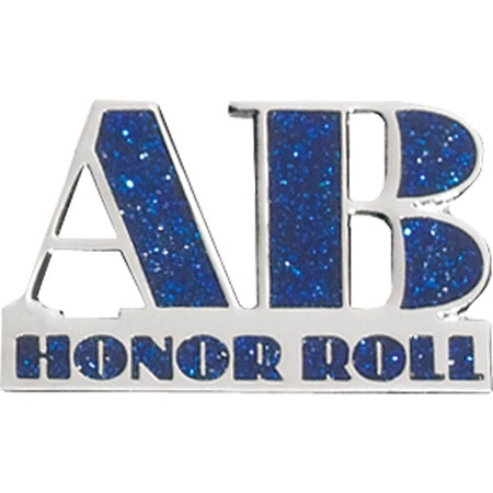 Honor Roll Award Pin - Glitter AB Honor Roll
