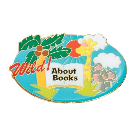 Reading Award Pin - Wild About Books