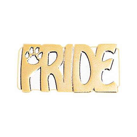 Paw Pride Award Pin - Gold