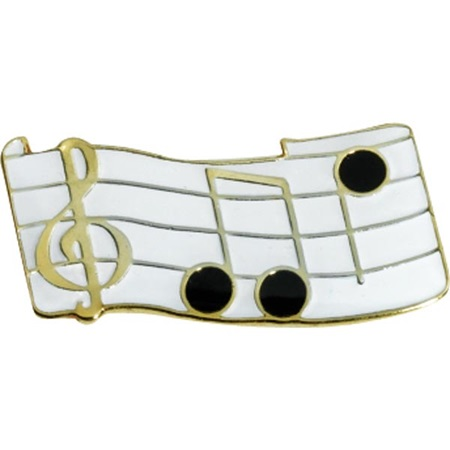 Music/Notes Pin