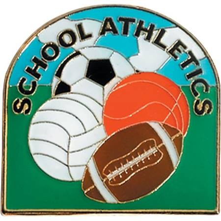 Sports Award Pin - School Athletics