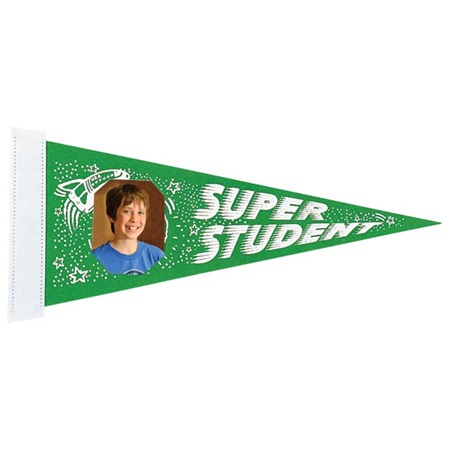 Photo Pennant - Super Student 9/25
