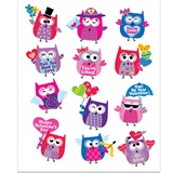 Owl Be Your Valentine Stickers