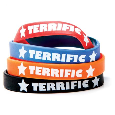 Terrific Silicone Wristband