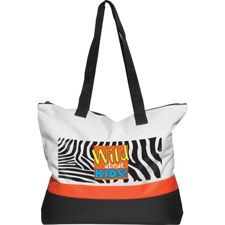 Wild About Kids Tote Bag